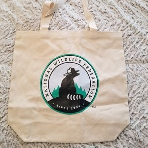 National Wildlife Federation Tote Bag NEW